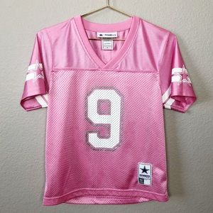 43209f4d6 Dallas Cowboys Pink Girls Authentic Apparel Jersey
